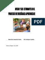 Rol Del Profesor y Sus Estudiantes en El Proceso de Enseñanza Aprendizaje