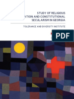 Study of Religious Discrimination and Constitutional Secularism
