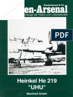 Waffen Arsenal - Sonderband S-76 - Heinkel He 219