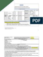 BLOQUE I Instrumento de Registro Secuencias (1)