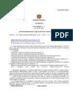 Legea Cu Privire La Arenda