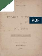 Nociones de Teoria Musical