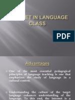 Internet in Language Class