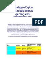 7. Escala Geológica
