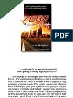 Zero to Sixty e Book