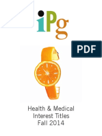 IPG Fall 2014 Health & Medical Interest Titles