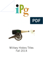 IPG Fall 2014 Military History Titles