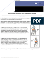 Curso de Mecanica Del Automovil, Diferencias de Los Motores Segun La Distribución Utilizada(3)(2)(2)