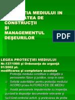 Protectia Mediului Si Managementul Deseurilor