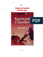 Raymond Chandler - Ponovna Igra