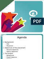 Penny, Plan, Arcos, TIE Placement Presentation