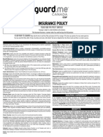 40 Policy Wording English