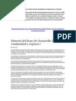 Aspectos Positivos y Negativos Del Desarrollo Humano en El Ecuador
