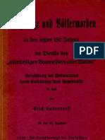 Ludendorff Erich - Vernichtung Der Freimaurerei - Teil 2 - Kriegshetze Und Voelkermorden (1928, 178 S., Scan, Fraktur)