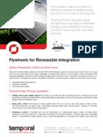 Renewable Integration Applications
