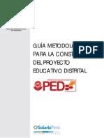 Guia Proyecto Educativo Distrital