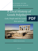 A Local History of Greek Polytheism - Gods, People and the Land of Aigina, 800-400 BCE