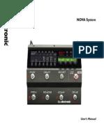 Tc Electronic Nova System Manual English