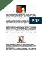 Escritores y Poetas Salvadoreños