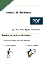 Guía de Análisis de Decisiones