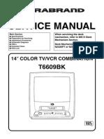 Durabrand T6609BK Manual de Servicio