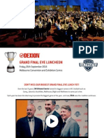 2014 Dexion Grand Final Lunch