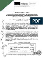 Acta Buena Pro Concurso Servicio Asesorìa Externa para Proyectos Regionales