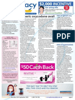 Pharmacy Daily for Thu 11 Sep 2014 - Only 9% aware of high cholesterol, Generic oxycodone available, AMA on supermarkets, Travel Specials and much more