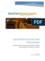 Volunteer Policies 2014 - 2015