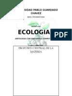 Antología de Ecología 2012