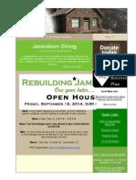 Jamestown Newsletter 17, September 10