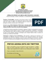 Release Operação Fim de Ano 2009 Twitter