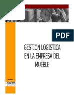 Guia de Gestion Logistica en La Empresa Del Mueble