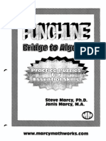 Bridge to Algebra Pizzazz
