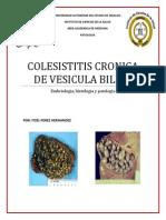 Colesistitis Cronica de Vesicula Biliar