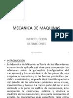1-Mecanica de Maquinas - Introd