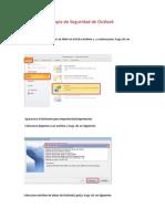 Crear Copia de Seguridad en Outlook