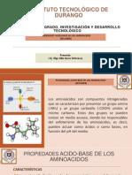 Propiedades Acido-base de Los Aminoacidos