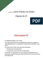 Lab Practico Redes. Repaso IP