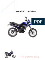 Yumbo Shark Motard 200 - Manual de Servicios