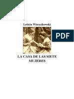 Wierzchowski Leticia - La Casa de Las Siete Mujeres