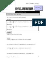 (chapter 7) partial derivates
