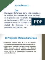 El Proyecto Minero Cañariaco.. EIA - Copia (2)