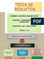 tiposdeproductos-091022164914-phpapp01
