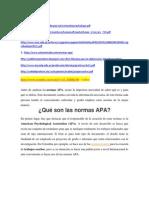Como Hacer Informes - APA