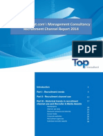 Top-consultant 2014 Recruitment Channel Report
