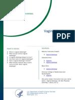 Vaginal Discharge Fact Sheet