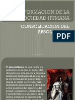 Conformacion de La Sociedad Humana