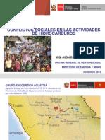 Expo4_conflictos Sociales en Las Actividades de Hidrocarburos