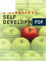 A Manager's Guide to Self Development